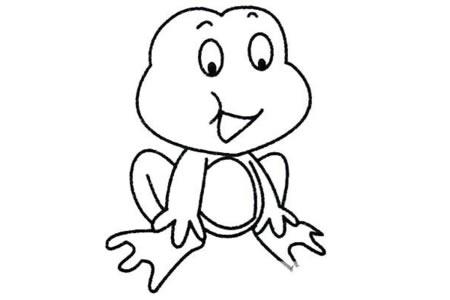 青蛙简笔画大全及画法步骤