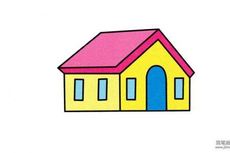 小房子的画法