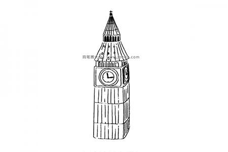 世界著名建筑 大笨钟