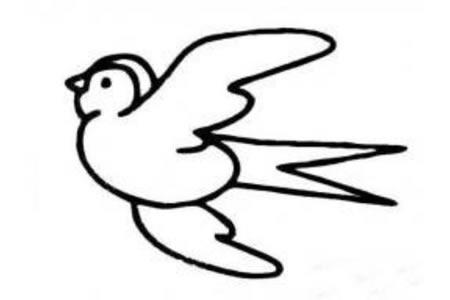 3张小燕子简笔画图片