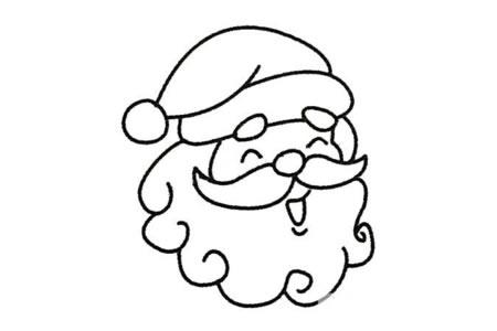 圣诞老人简笔画大全及画法步骤