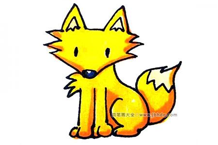 7步画狐狸