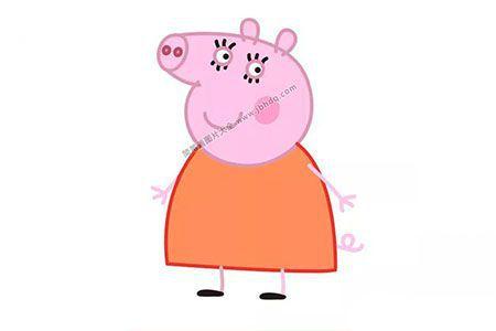 猪妈妈怎么画