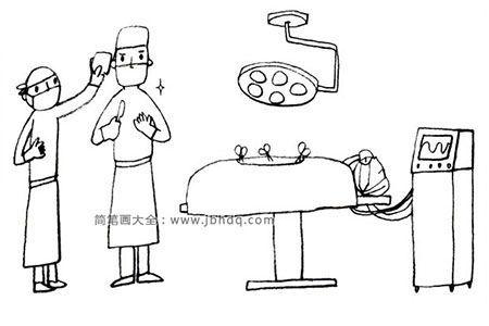 手术室里的医生