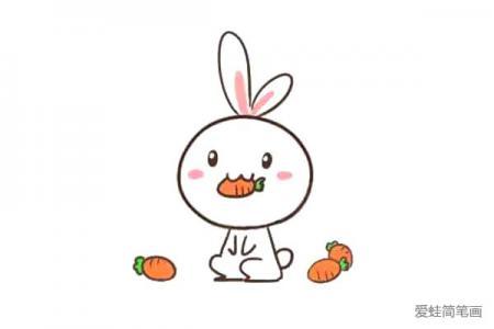 吃胡萝卜的兔子,你一定喜欢!