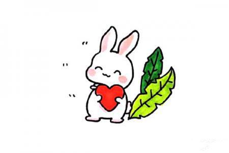 一窝暖暖的兔子