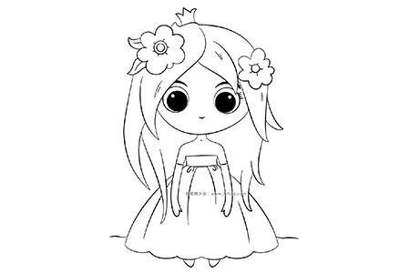 超可爱的小公主