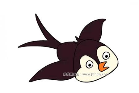 可爱的燕子简笔画