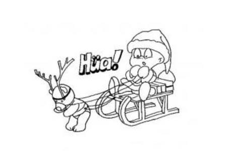 小孩版圣诞老人
