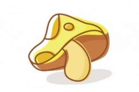 简笔画动画教程之蘑菇的画法