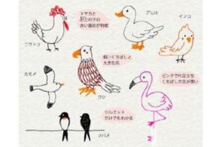 七种日系动物简笔画