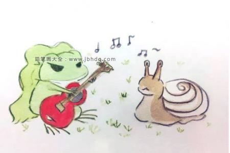旅行青蛙弹吉他