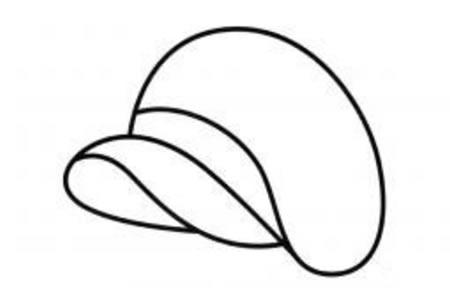 帽子简笔画画法