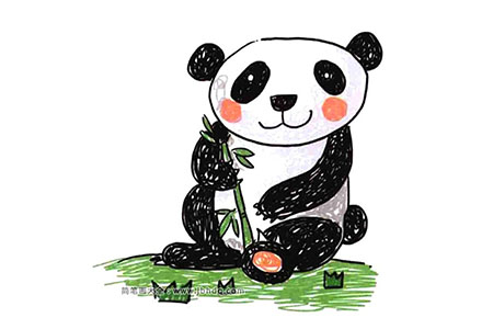 陆地野生动物 大熊猫