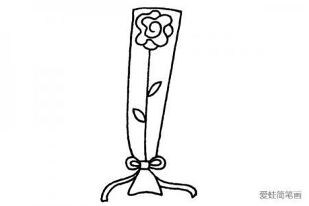 精美包装的玫瑰花