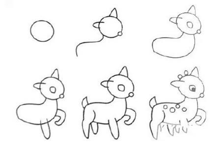 9种既简单又漂亮的动物简笔画画法