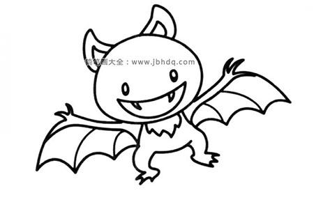 吸血蝙蝠简笔画图片