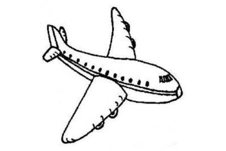 儿童飞机简笔画图片