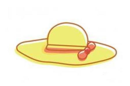 幼儿简笔画图片大全之帽子