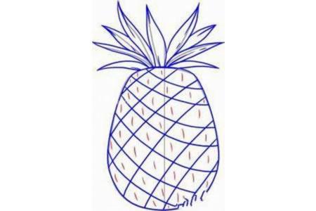 可口的菠萝