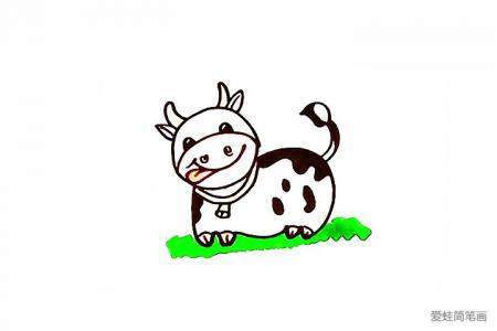 奶牛怎么画
