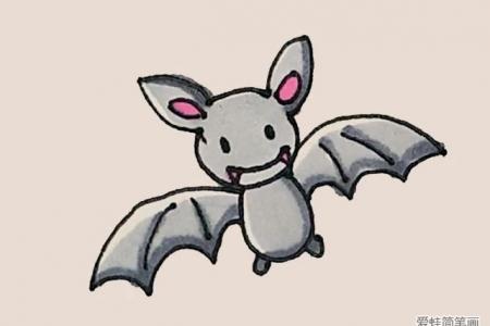 简笔画之蝙蝠