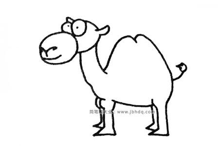 四步学画骆驼