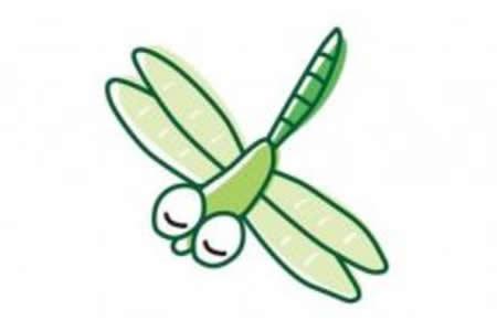 简笔画图片大全之蜻蜓