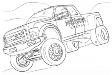 怪物能量怪物卡车