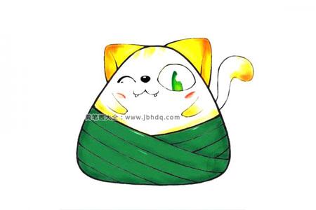 动漫人物粽子系列 卡通小猫粽