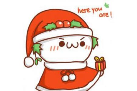 8张漂亮的圣诞节简笔画图片