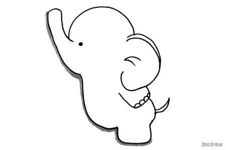 儿童轻松学画大象