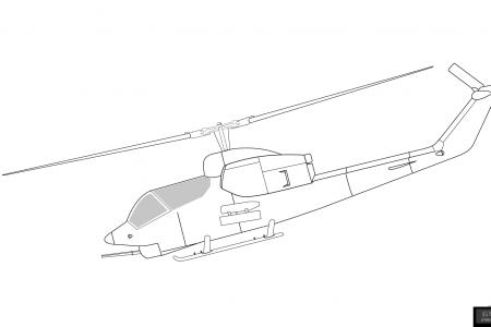 贝尔AH-1J SeaCobra直升机