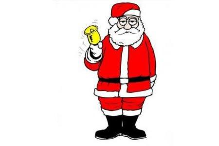 犯困的圣诞老人