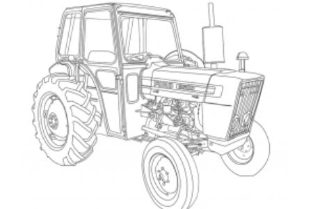 福特3600拖拉机