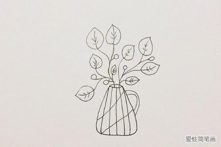 简单可爱小盆栽