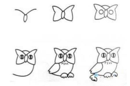 可爱的猫头鹰