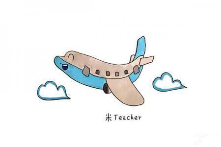 怎么画飞机