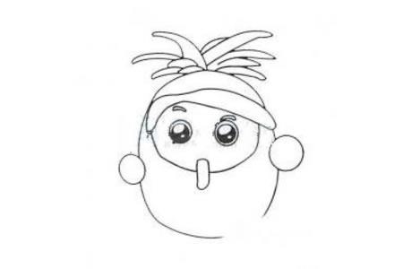 卡通可爱的果宝特攻
