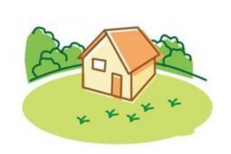 儿童简笔画小房子风景的绘画步骤