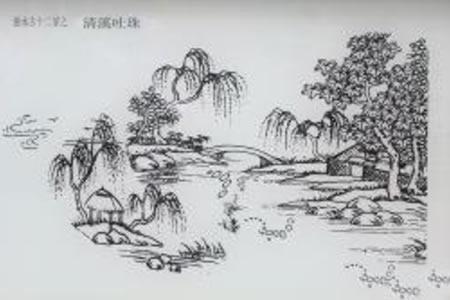 惠水十二景——清溪吐珠