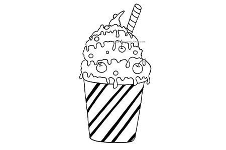 杯装冰激凌