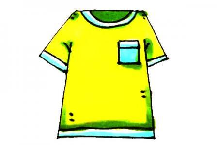 儿童轻松学画短袖T恤