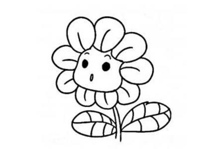 惊奇的向日葵