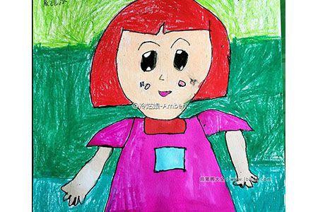 妈妈我爱你 母亲节儿童画作品