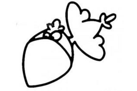 卡通乌鸦的画法
