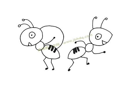 蚂蚁接力搬运