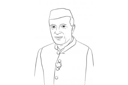 印度开国总理 贾瓦哈拉尔·尼赫鲁