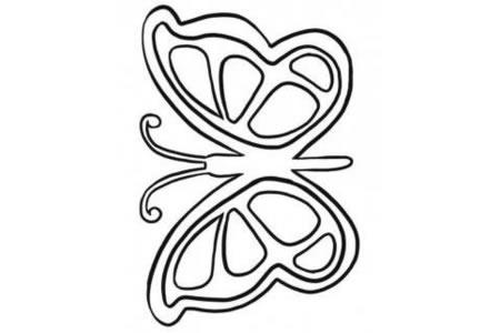 教幼儿园宝宝画蝴蝶
