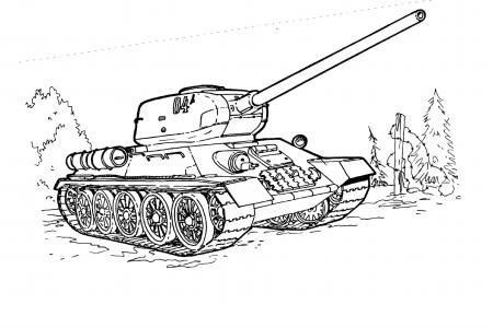 坦克简笔画大全
